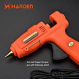 Профессиональный клеевой пистолет 60-100W для стержней 10,8-11,5 мм Harden Tools 660371, фото 6
