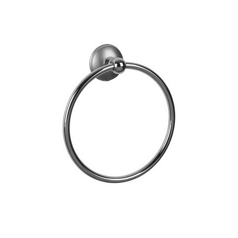 Держатель полотенца кольцо Bisk Dacota 071625 сатин
