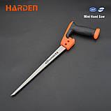 Мини ножовка по дереву 300 мм Harden Tools 631227, фото 2