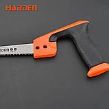 Мини ножовка по дереву 300 мм Harden Tools 631227, фото 6