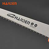 Мини ножовка по дереву 300 мм Harden Tools 631227, фото 7