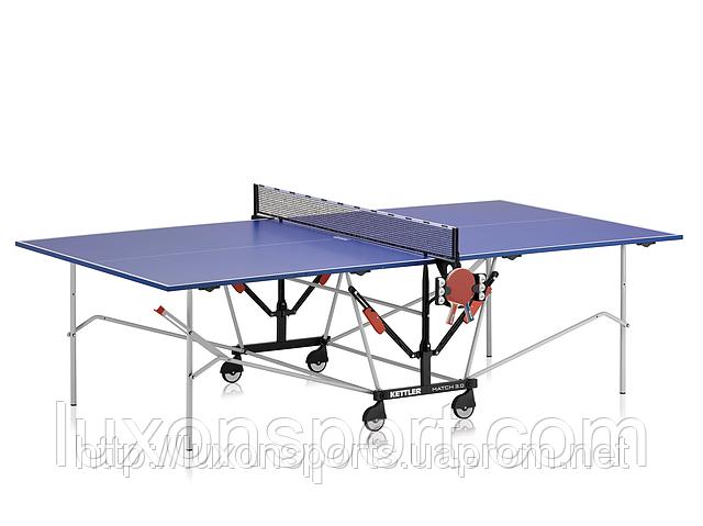 """Теннисный Стол для Закрытых Помещений """"KETTLER Match 3.0 """"16мм с сеткой"""