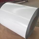 Гладкий Лист 1 мм с Полимерным Покрытием RAL 9010 (Белый 1250 мм) Mittal Steel, фото 4