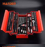 Профессиональный набор инструмента для дома в металлическом кейсе, 77 пр. Harden Tools 510777, фото 2