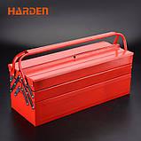 Профессиональный набор инструмента для дома в металлическом кейсе, 77 пр. Harden Tools 510777, фото 4