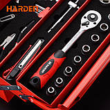 Профессиональный набор инструмента для дома в металлическом кейсе, 77 пр. Harden Tools 510777, фото 5