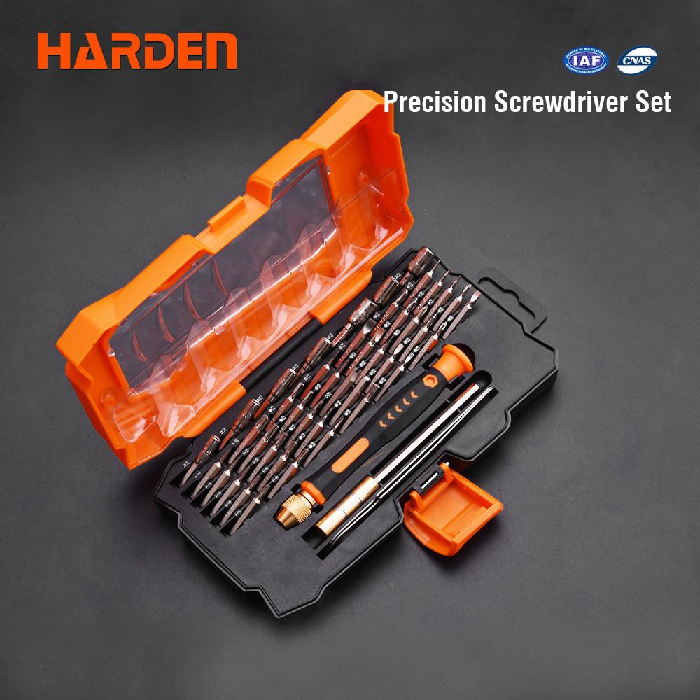 Набор отверток прецизионных для точных работ, 45 предметов Harden Tools 550145