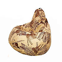 Кресло груша KatyPuf ЕвроНочь, Размер L 100x75