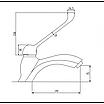 Смеситель для раковины Invena Inis BU-84-M01 хром, фото 3
