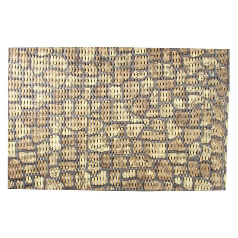 Коврик для ванной комнаты универсальный Ridder Brick 50х80 см 01108300