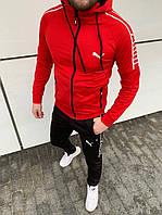 Мужской спортивный костюм Puma c капюшоном
