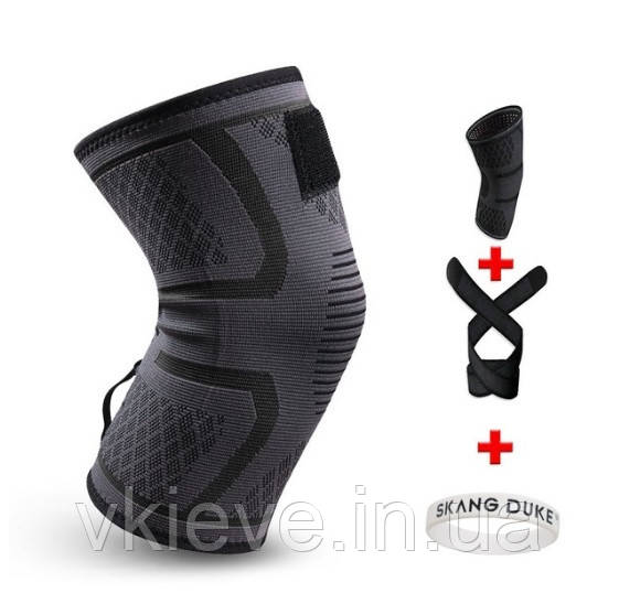 Бандаж колена со съемным эластичным ремнем 1 шт (БК-02)