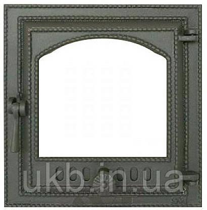 Дверца печная 370*400 мм SVT 410 / Дверцята пічні 370*400 мм SVT 410