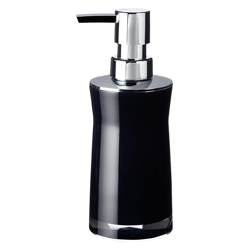 Дозатор жидкого мыла Ridder Disco черный 21035.10