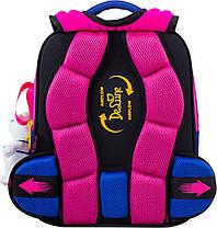 Школьный набор DeLune (рюкзак+сменка+пенал+брелок) 7mini-017 ранец школьный рюкзак, фото 3