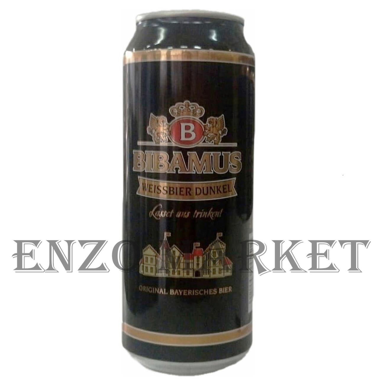 Пиво Bibamus Wheat dark, 0,5 литра ЖБ
