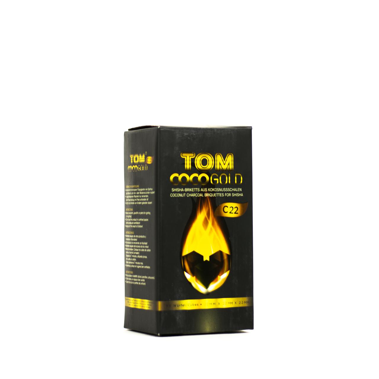 Уголь TOM COCO С 22 1 кг