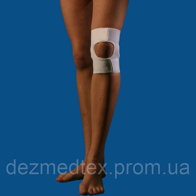 Бандаж для коленного сустава (с открытой чашечкой)