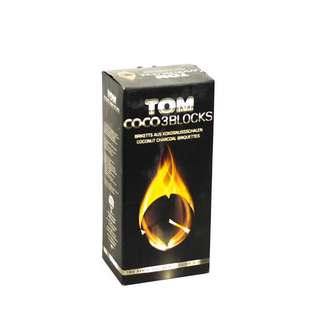 Уголь TOM COCO Silver 3 Blocks 3 кг