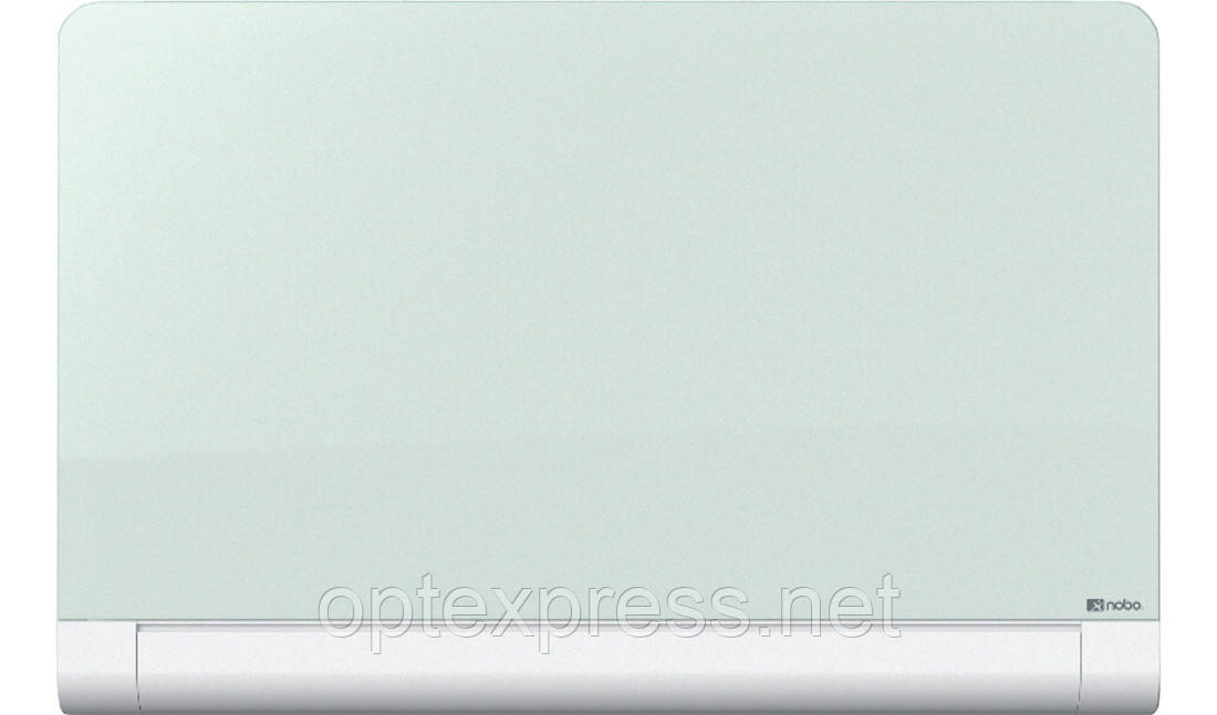 Доска NOBO Diamond стеклянная магнитно-маркерная, 1260x711мм, цвет белый