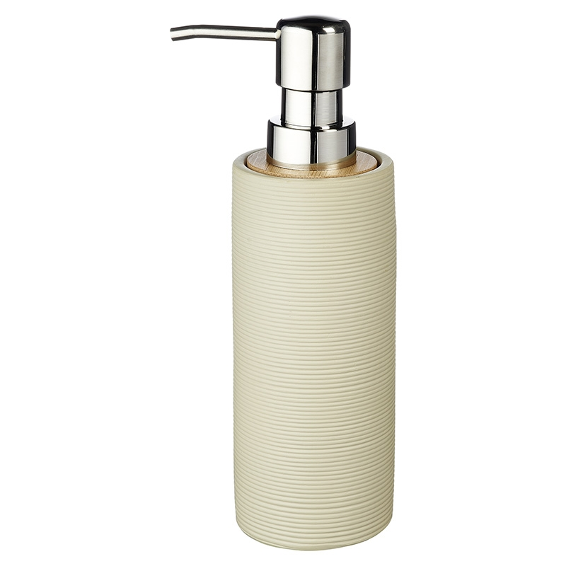 Дозатор жидкого мыла Ridder Roller 21055.09 бежевый