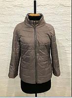 Легкая однотонная  молодежная весенняя курточка из новой коллекции