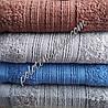 Махровое банное полотенце Мелкие волны