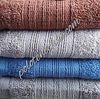Махровое банное полотенце Мелкие волны, фото 1