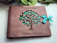 Фотоальбом из дерева, оригинальный подарок