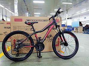 Велосипед CROSSER 26  STREAM 16 2020 года Черно\красный цвет
