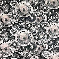 3д панель стеновой декоративный Кирпич Часы (самоклеющиеся 3d панели для стен оригинал техно) 700x770x5 мм