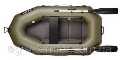 Одноместная надувная гребная лодка Bark-210