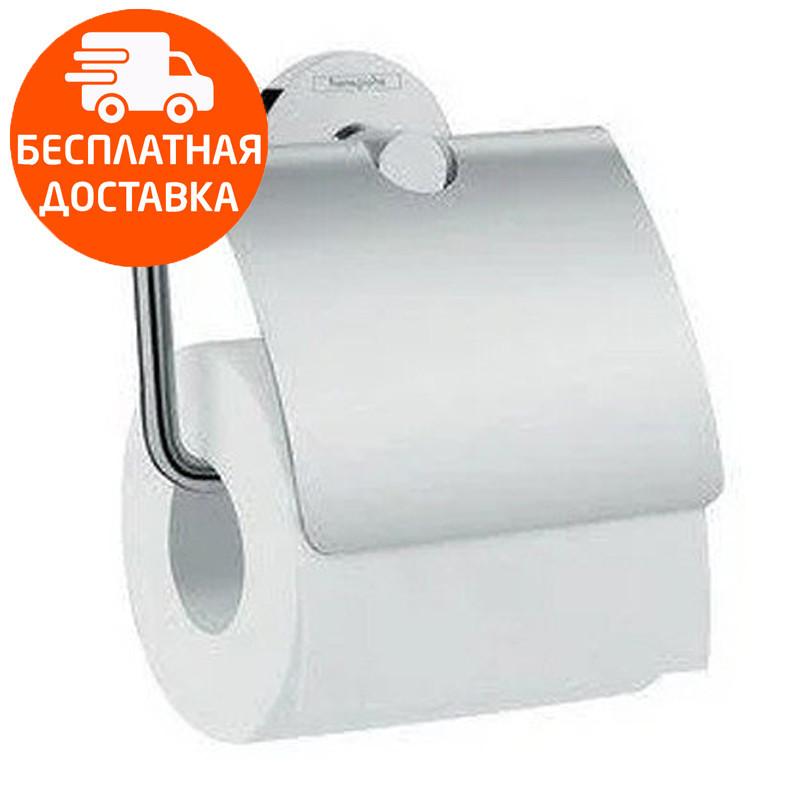 Держатель туалетной бумаги с крышкой Hansgrohe Logis 41723000 хром