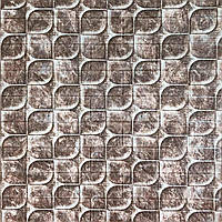3д панель стеновой декоративный Кирпич Чешуя (самоклеющиеся 3d панели для стен Необычный декор) 700x770x5 мм