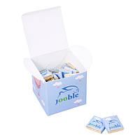 Шоколадный набор куб 75х75х75 на 20 плиток. от 50 наборов с Вашим лого., фото 1