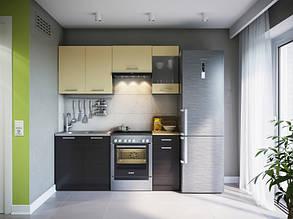 Кухня МАРТА 1800 мм венге темний/венге світлий
