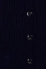 Темно-синий жилет больших размеров удобный Нэлли, фото 3