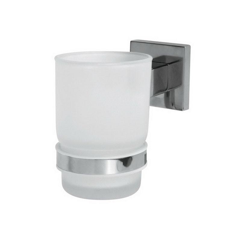 Стакан для ванны настенный Bisk Arktic 01465 хром