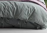 Комплект постельного белья из вареного хлопка размер евро LIMASSO NATURAL GREEN BAGCIK, фото 3