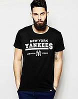 """Футболка """"в стиле New York"""" yankees logo"""