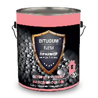 Праймер БИЭМ BITUGUM (в таре 10 кг) на водной основе (грунтовка битумная)