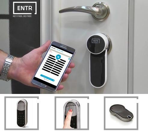 Контроль доступу - замки з технологією ENTR