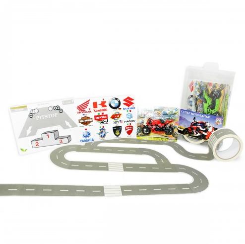 Супер Мотобайки- трассы Формулы-1