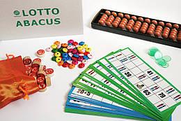 Настольная игра Лото Абакус соробан ментальная арифметика