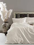 Комплект постельного белья из сатина размер евро LIMASSO SNOW WHITE VOGUE, фото 2