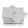 Стоматологические салфетки нагрудники непромокаемые, 500 шт, 45х32см, белые