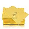 Непромокаемые салфетки на рабочий стол мастера маникюра, 125 шт, 45х32см, желтые