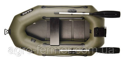 Одноместная надувная гребная лодка Bark-210N