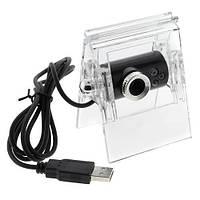 Веб камера с подставкой/LED подсветкой