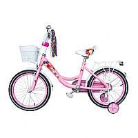 Велосипед детский  Spark Kids Follower 14 дюймов колеса. От 3-5 лет.